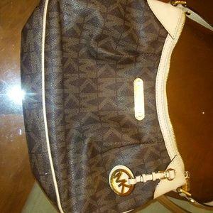Small shoulder mks purse